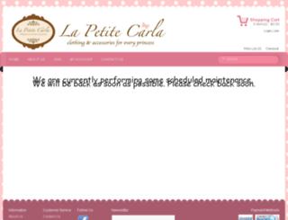 lapetitecarla.com.au screenshot