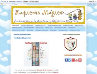 lapiceromagico.blogspot.pe screenshot