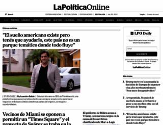 lapoliticaonline.com screenshot