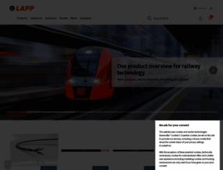 lapp.com screenshot