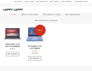 lappylappy.com screenshot
