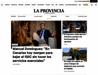laprovincia.es screenshot