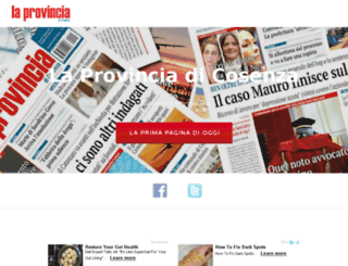 laprovinciadicosenza.it screenshot