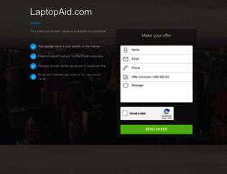 laptopaid.com screenshot