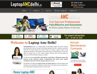 laptopamcdelhi.in screenshot