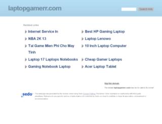 laptopgamerr.com screenshot