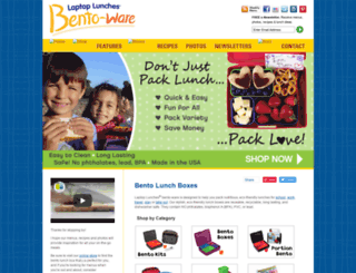 laptoplunches.com screenshot
