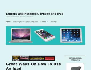 laptopsandnotebook.com screenshot