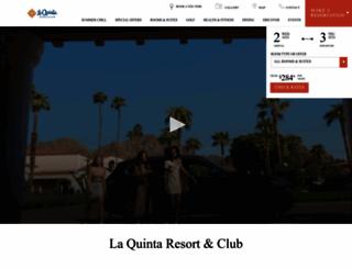 laquintaresort.com screenshot