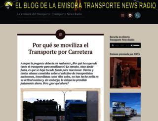 laradiodeltransporte.wordpress.com screenshot