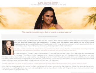 laraduttazone.com screenshot