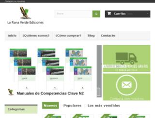 laranaverdeediciones.es screenshot