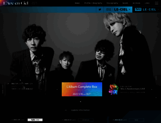 larc-en-ciel.com screenshot
