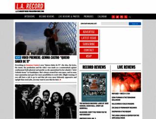 larecord.com screenshot