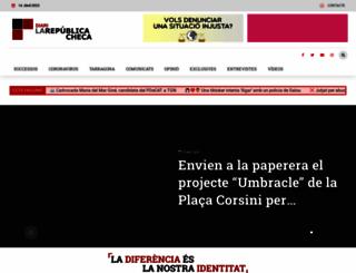 larepublicacheca.com screenshot