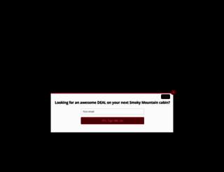 largecabinrentals.com screenshot