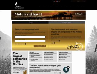 largestcompanies.com screenshot