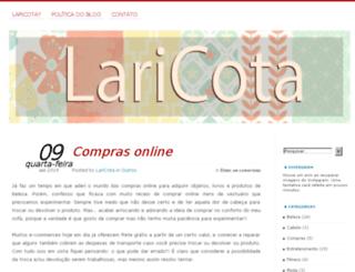 laricota.com.br screenshot