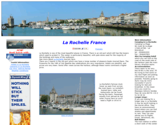 larochellefrance.com screenshot