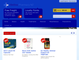 larsonspharmacy.co.nz screenshot