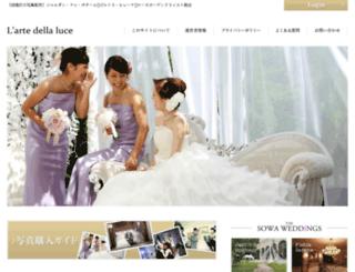 larte-della-luce.com screenshot