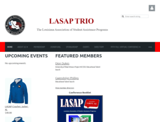 lasap.wildapricot.org screenshot
