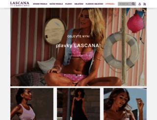 lascana-shop.cz screenshot