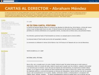 lascartasdeabraham.blogspot.fr screenshot