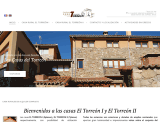 lascasasdeltorreon.com screenshot
