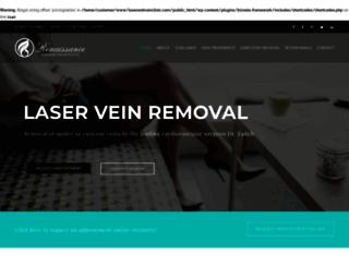laserandveinclinic.com screenshot