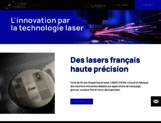 lasercheval.fr screenshot