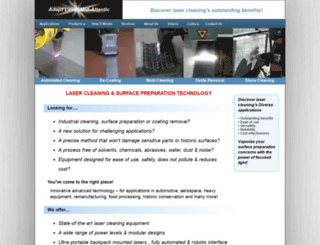 lasercleanall.com screenshot