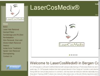 lasercosmedix.godaddysites.com screenshot