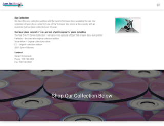 laserdiscshop.com screenshot