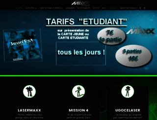 lasermaxxnancy.fr screenshot