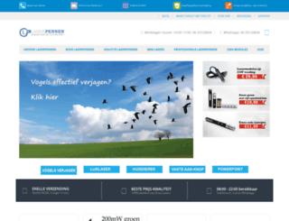 laserpennen.com screenshot