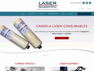 laserscientific.com screenshot