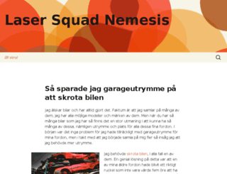 lasersquadnemesis.com screenshot
