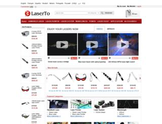 laserto.com screenshot