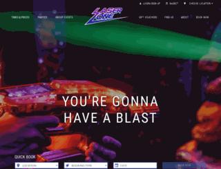 laserzone.co.uk screenshot