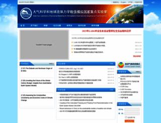 lasg.ac.cn screenshot
