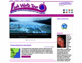 lashworldtour.com screenshot