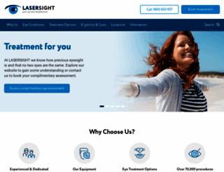 lasik.com.au screenshot