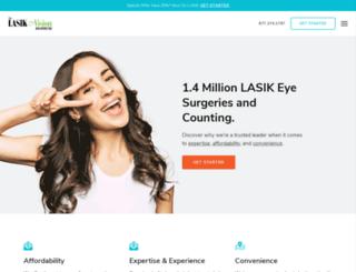 lasik.com screenshot