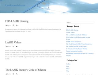 lasikscandal.com screenshot