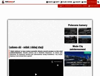 laskowa-ski.webcamera.pl screenshot