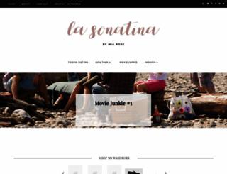 lasonatina.com screenshot
