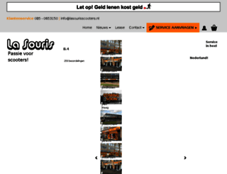 lasourisscooters.nl screenshot