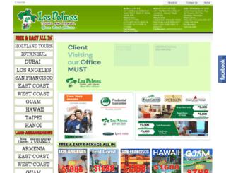 laspalmastoursandtravel.com screenshot
