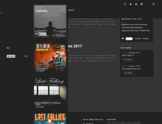 lastfalling.com screenshot